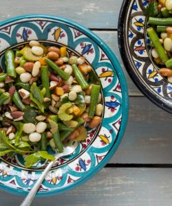Three- Bean Salad with Smoked Paprika Dressing